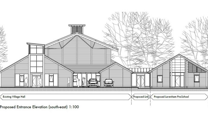 Lavenham Pre School - New Build Fund Rasing